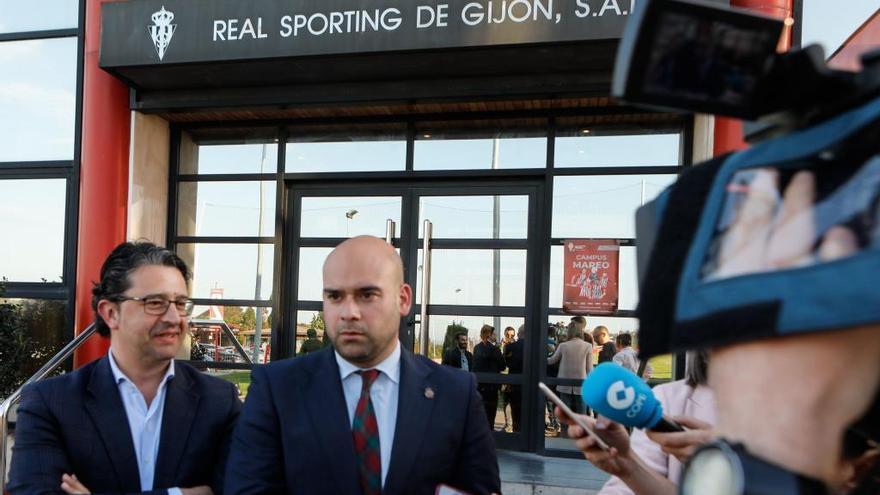 Ayuntamiento y Sporting crearán una comisión para erradicar la violencia en el fútbol