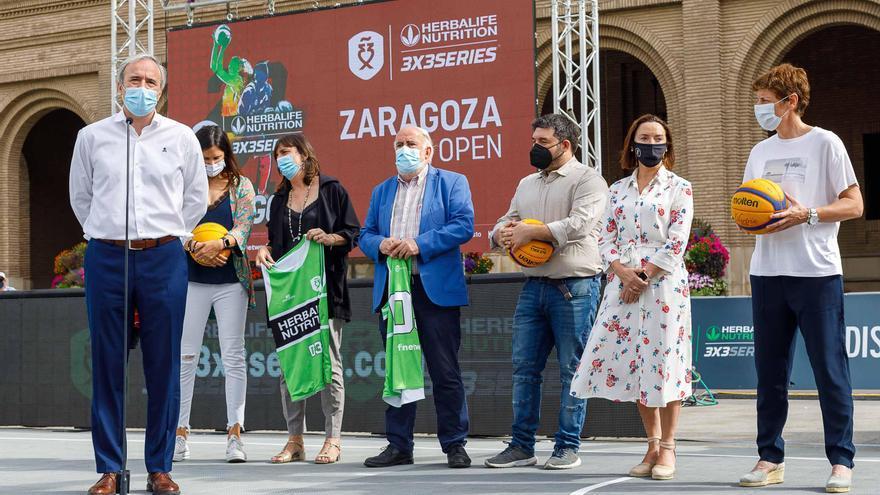 El circuito Herbalife Series de baloncesto 3x3 llega a Zaragoza