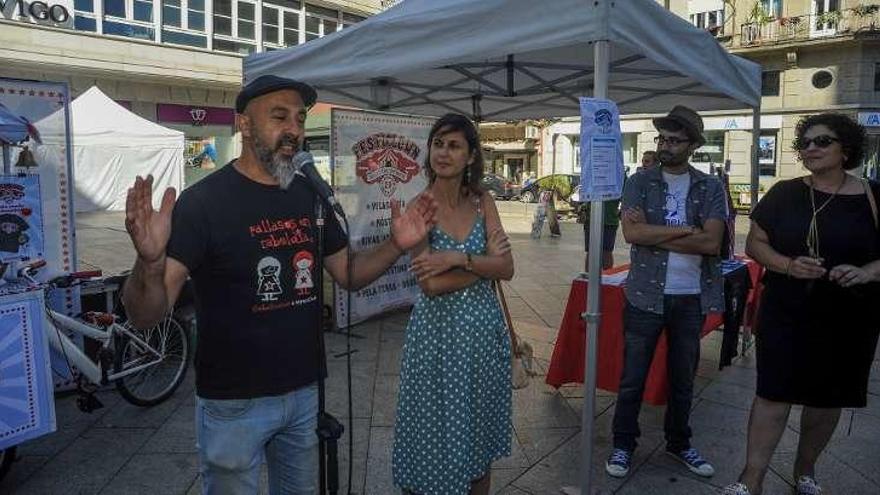 """La Festa da Auga y el """"Festiclown"""" comparten la Praza de Galicia"""