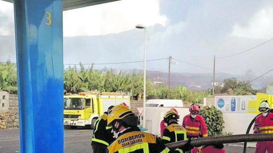 Anticiparse al avance de las coladas del volcán de La Palma