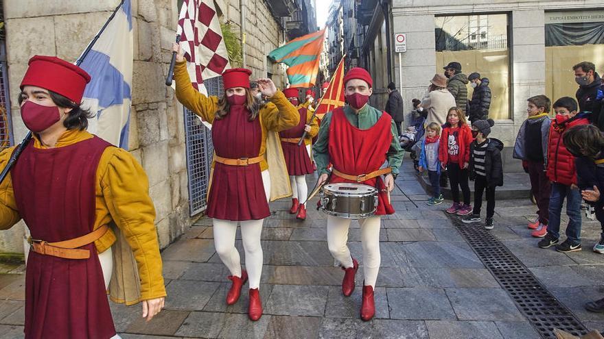Ses Majestats i la seva arribada a Girona en un dels anys més difícils que es recorden