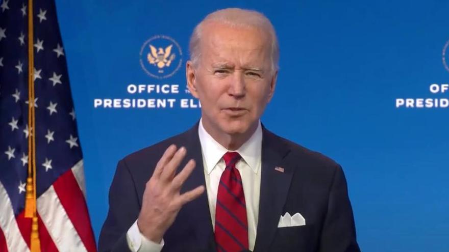 Biden rechaza la iniciativa de Trump para reabrir EEUU a los viajeros de Europa