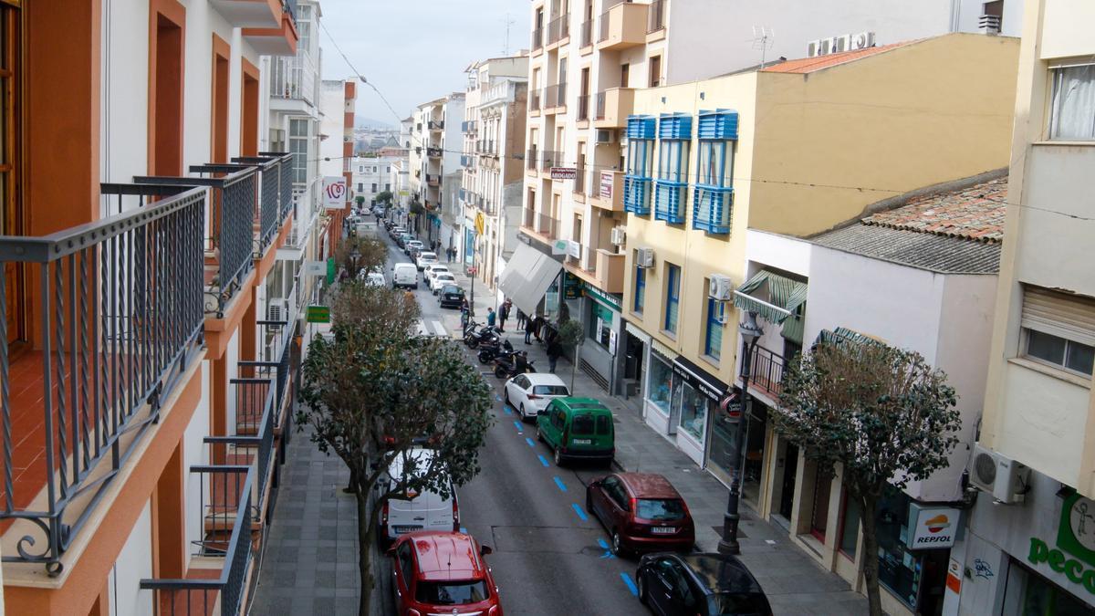 La calle Félix Valverde Lillo se transformará en plataforma única.