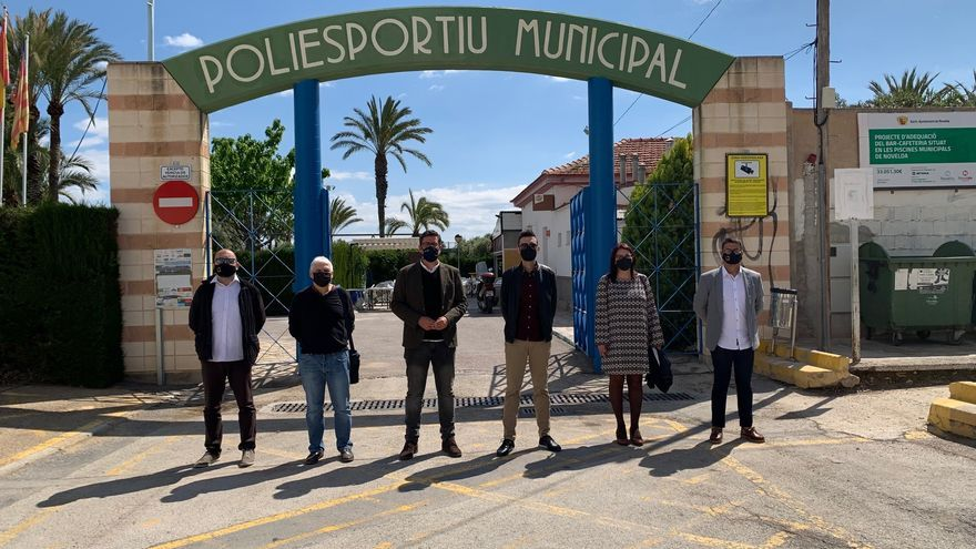 La Diputación de Alicante inicia el plan Planifica con la adjudicación de la primera obra en Novelda