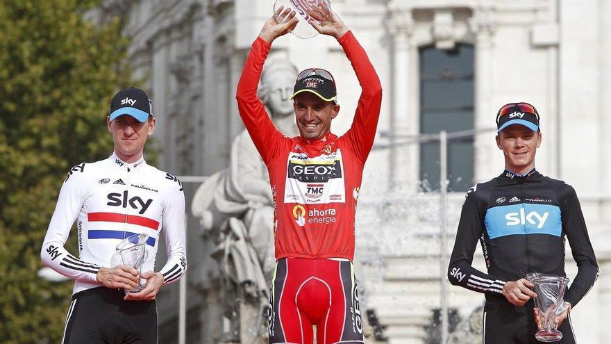 Froome gana la Vuelta del 2011 por dopaje de Juanjo Cobo