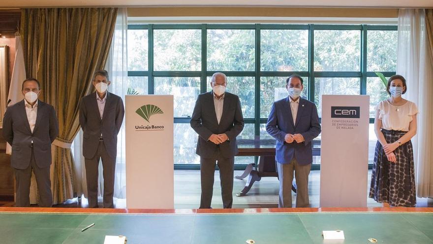 Unicaja Banco abre una línea de financiación de 700 millones para respaldar a las empresas malagueñas