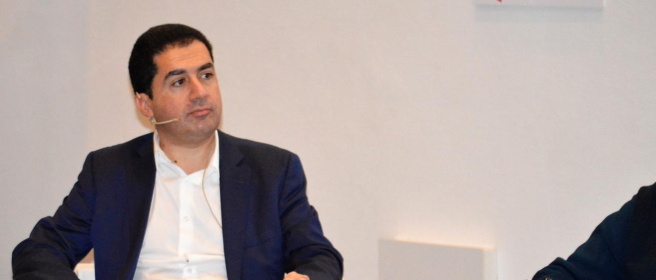 El portavoz del PSOE en la Diputación de Alicante, Toni Fráncés