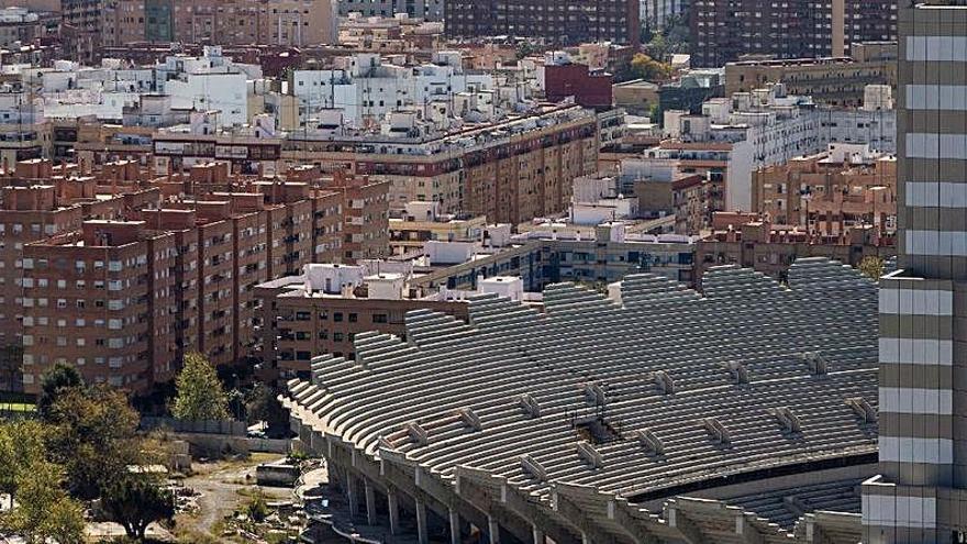 El Valencia CF prevé reanudar las obras en mayo de 2024