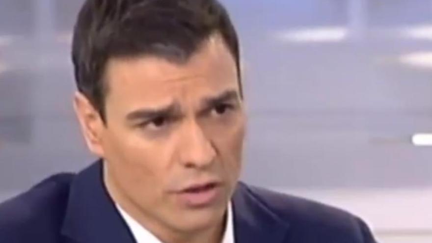 La frase del 2015 de Pedro Sánchez que le obligaría a cesar a Huerta