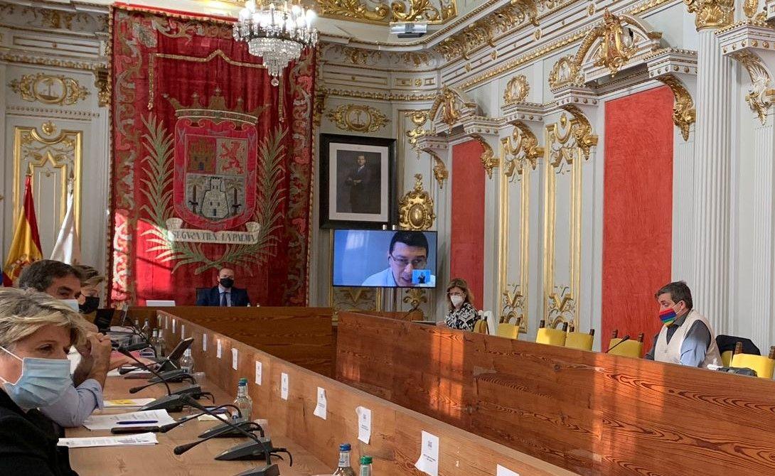 Pleno del Ayuntamiento de Las Palmas de Gran Canaria de este viernes, 29 de enero
