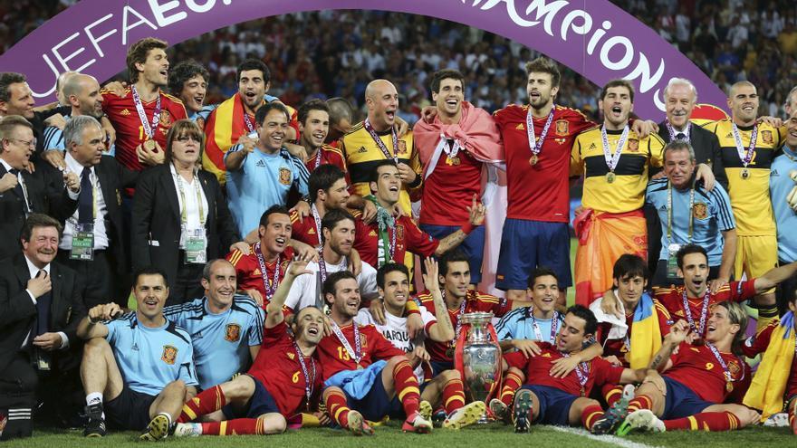 Historia de la Eurocopa: 2012, España cerró el círculo ganador con una exhibición