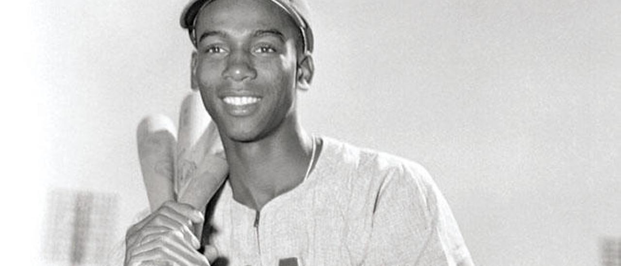 Ernie Banks, poco después de llegar a los Cubs.