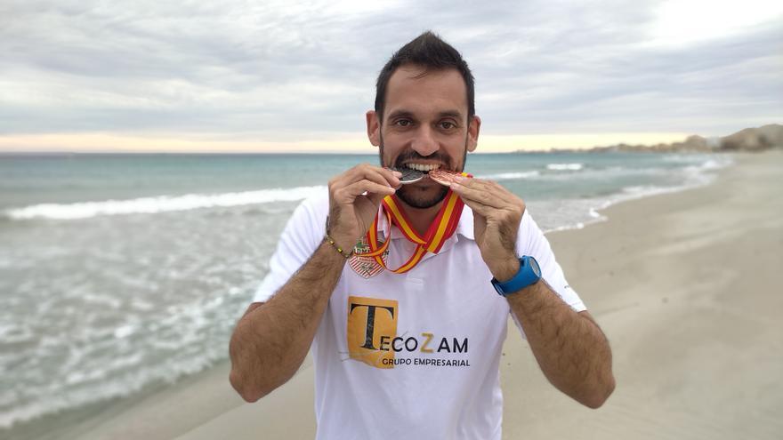 Aitor Llandrés logra dos medallas en el Campeonato de España de bádminton