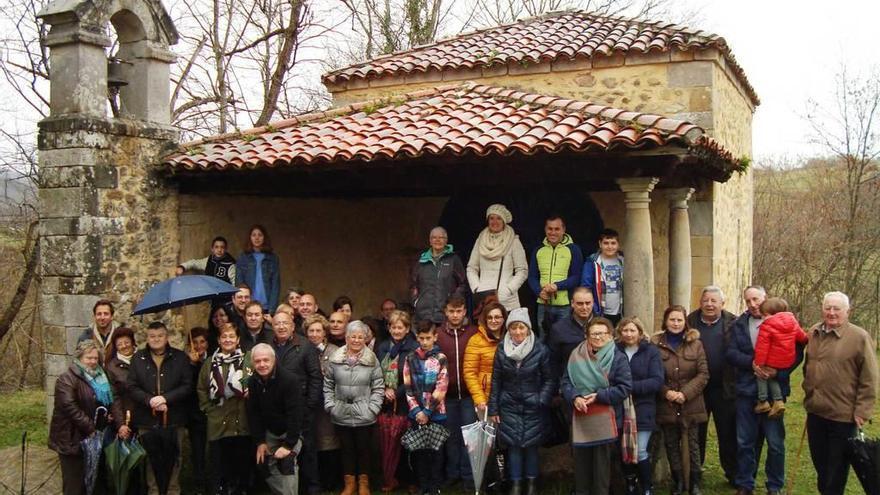 Coraín, en Cangas, celebra Santa Eugenia