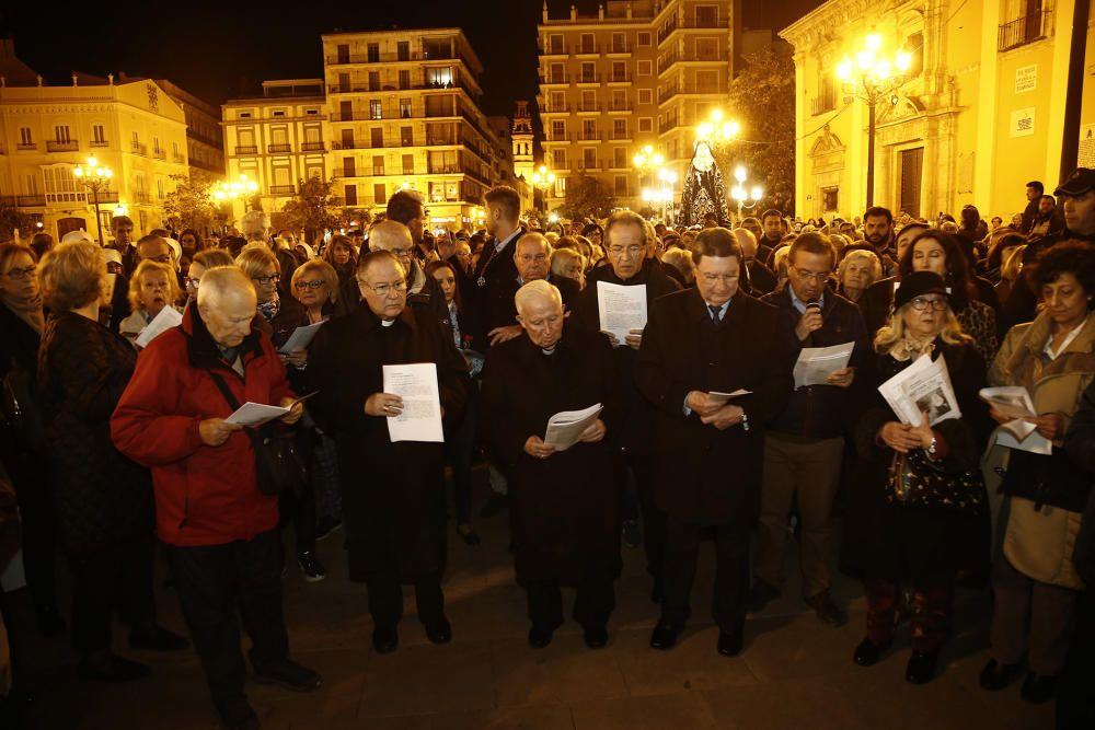 Via Crucis de Semana Santa en el Centro Histórico de València