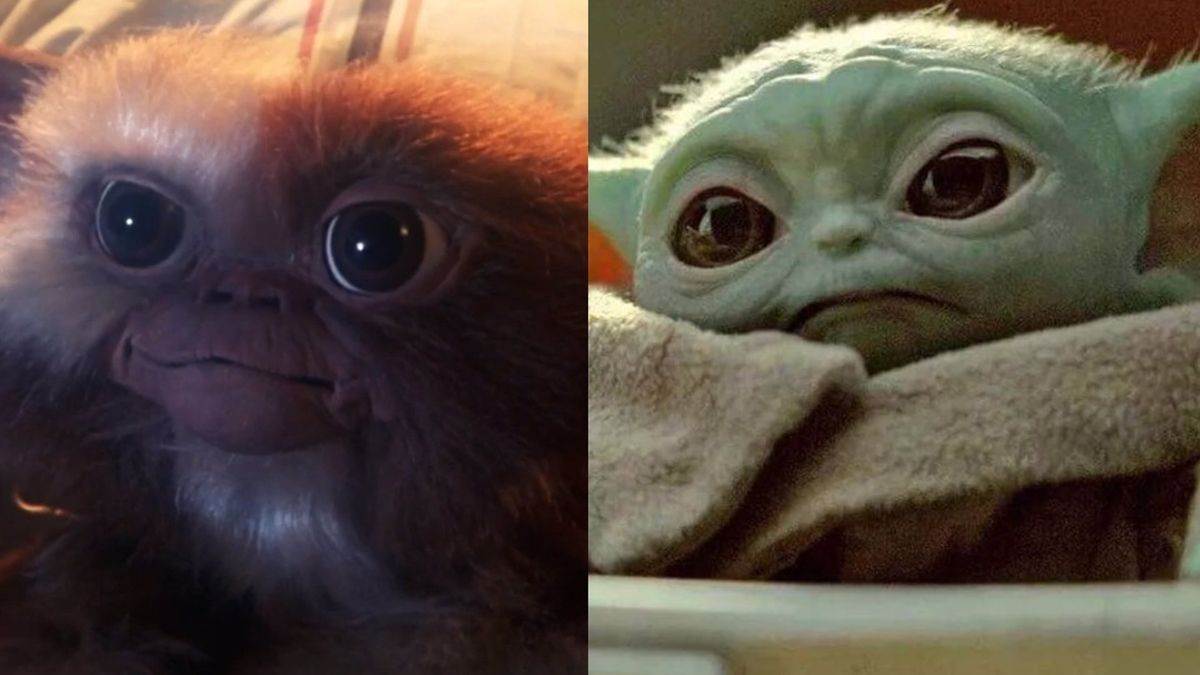 Gizmo y Baby Yoda