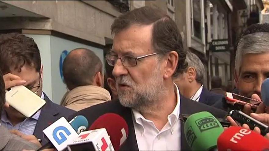 """Rajoy ve """"disparatado"""" el plan de gobierno de Sánchez"""