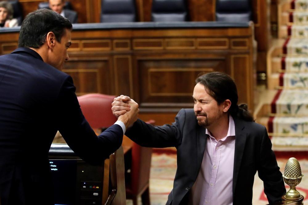 Sánchez, investido presidente del Gobierno | Enero