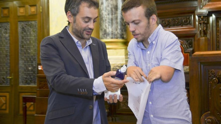 Ferreiro y Sande reciben a Alberto Seoane