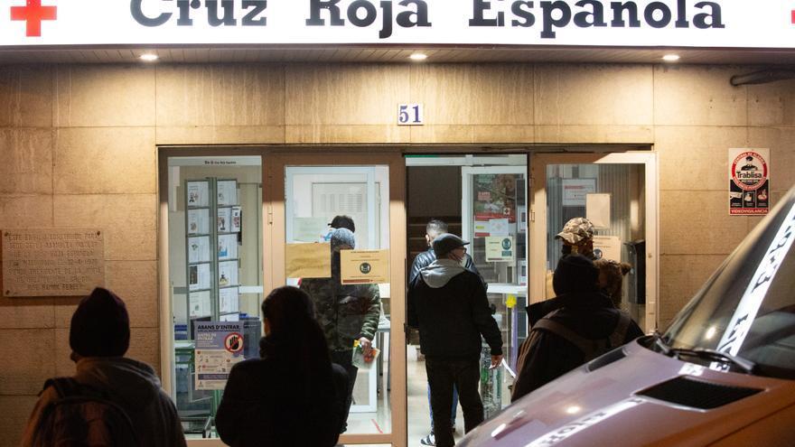 Cruz Roja alerta de que muchas familias de Ibiza tienen que decidir entre comer o calentar sus casas