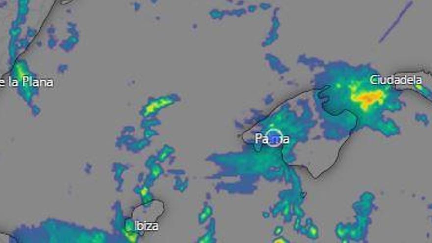 Sigue en directo la DANA en Mallorca: Las tormentas descargan con gran intensidad