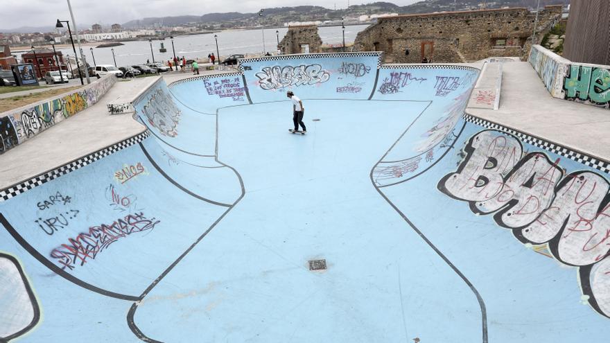 El arreglo del skatepark de Cimadevilla, a licitación por 16.352 euros