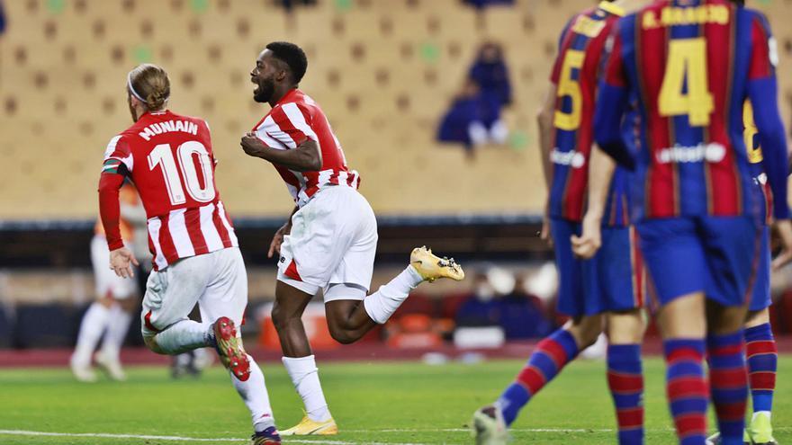 Williams le da la gloria al Athletic