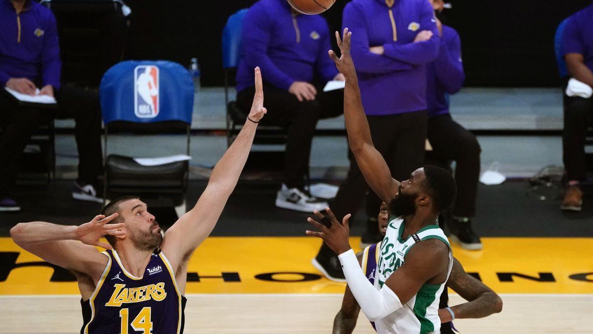 Los Celtics dejan sin premio al mejor Marc Gasol de la temporada