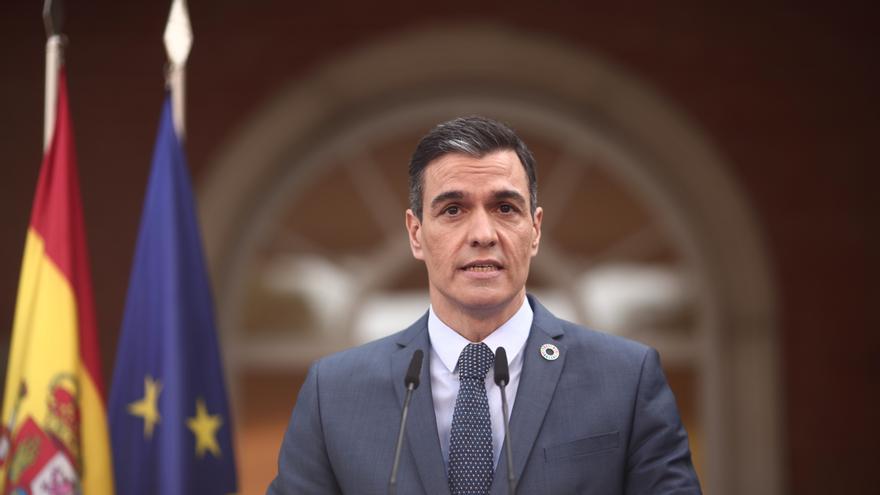 """Sánchez, que presidirá dos actos por el 8M, pide """"más feminismo que nunca"""""""