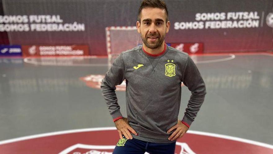 Llega la hora de Cecilio de debutar con España