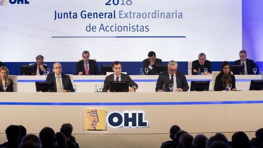 OHL sigue en caída libre en bolsa y cede el 17%