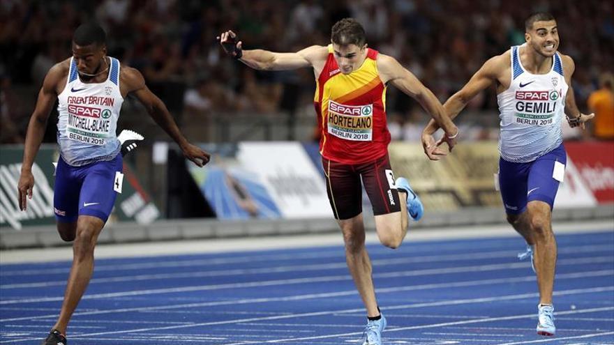 Fernando Carro conquista la plata en 3.000 obstáculos