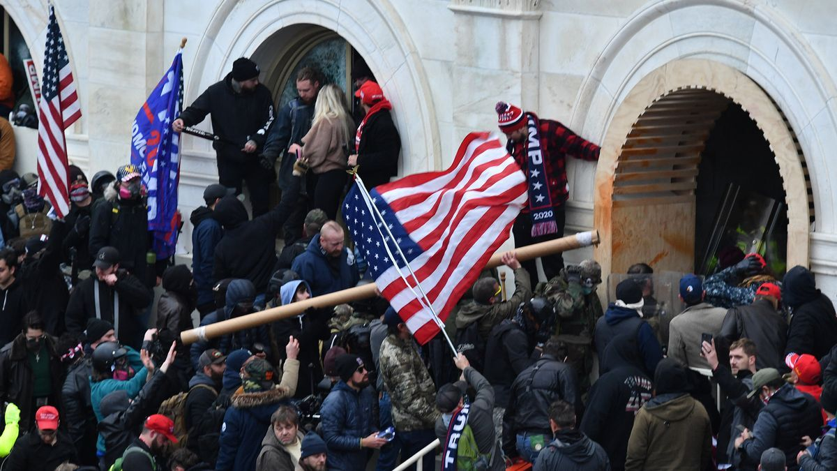 Seguidores de Trump asaltan el Capitolio el pasado 6 de enero