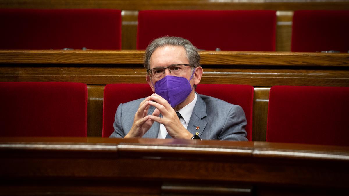 El consejero de Hacienda y Economía, Jaume Giró.