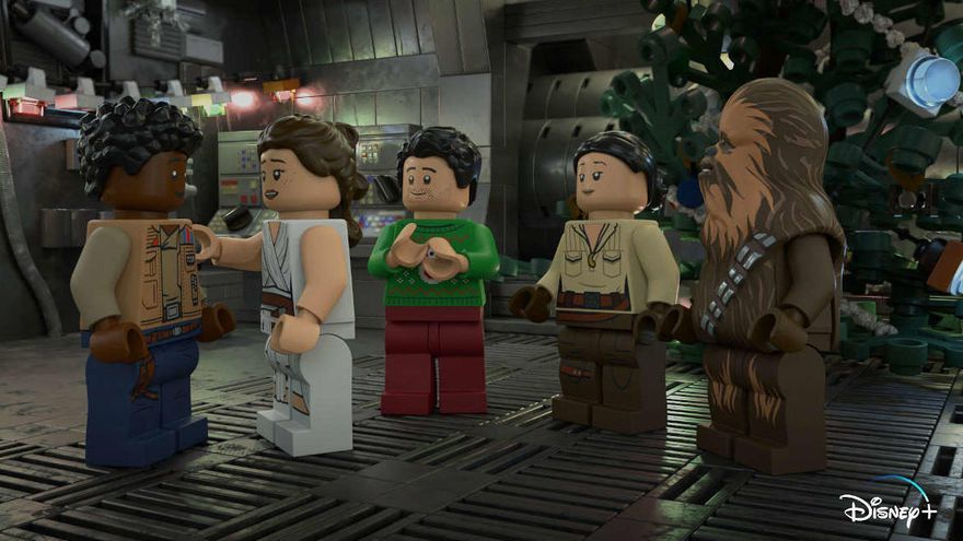 Disney+ estrenará en exclusiva el especial navideño 'The Lego Star Wars Holiday Special'