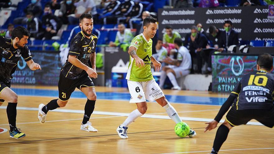 El Palma Futsal ejerce de líder