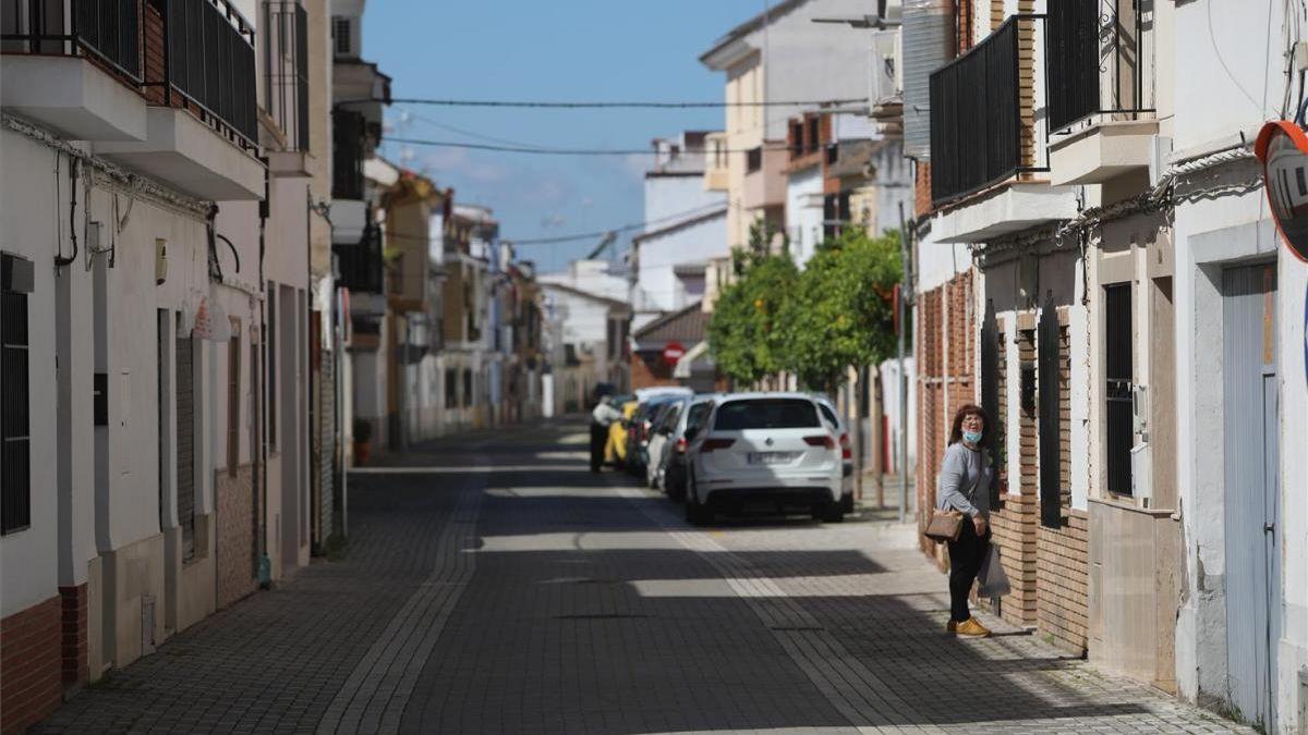 Imagen de archivo de la barriada de El Ángel.