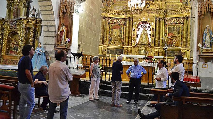 El Santuario de La Carballeda reanuda las visitas guiadas a lo largo del mes