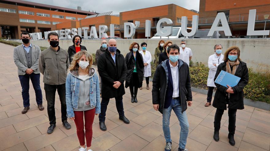 La primera comarca confinada de España conmemora el aniversario de la pandemia