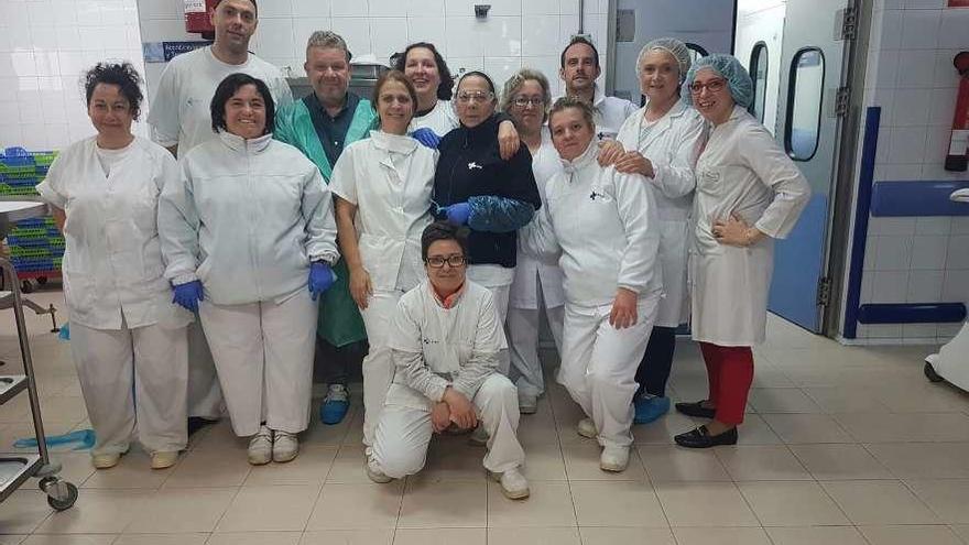 Chicote pone a prueba la comida del hospital de Zamora