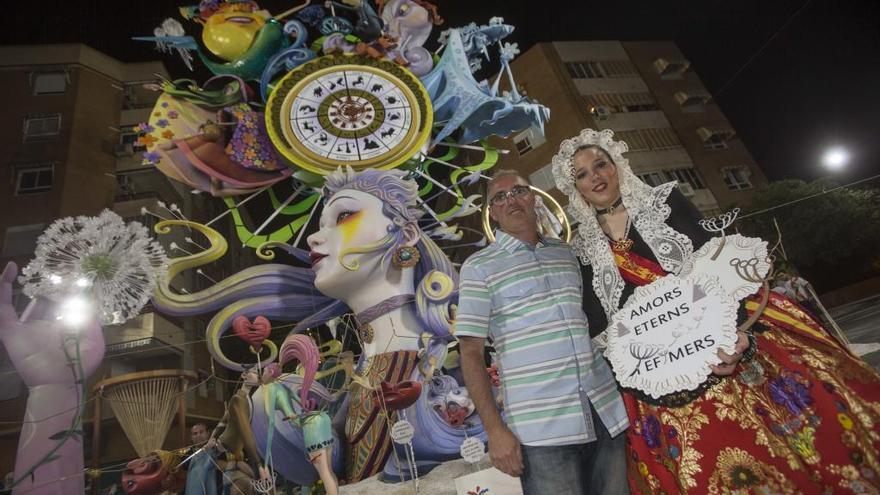 La hoguera La Ceràmica renueva al artista Vicente Llácer para la plantà de 2020
