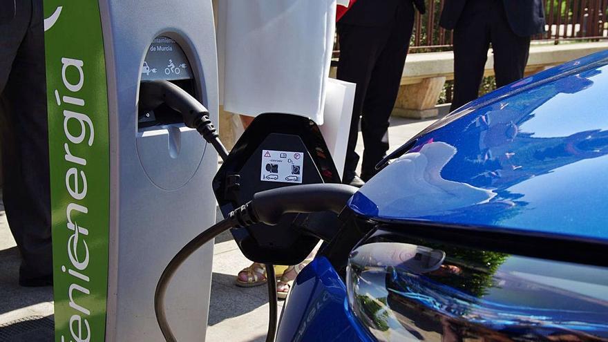 Murcia tendrá tres nuevos puntos de recarga para vehículos eléctricos