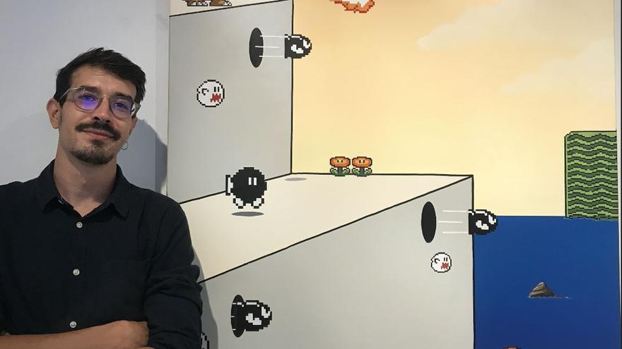 J. Principal crea un món plàstic personal i surrealista amb personatges de videojocs