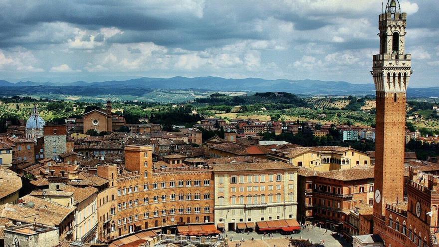 Siena: El balcó medieval