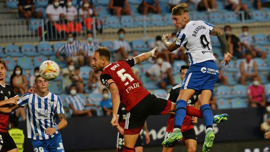 Muchas luces y alguna sombra en el debut liguero del Málaga CF