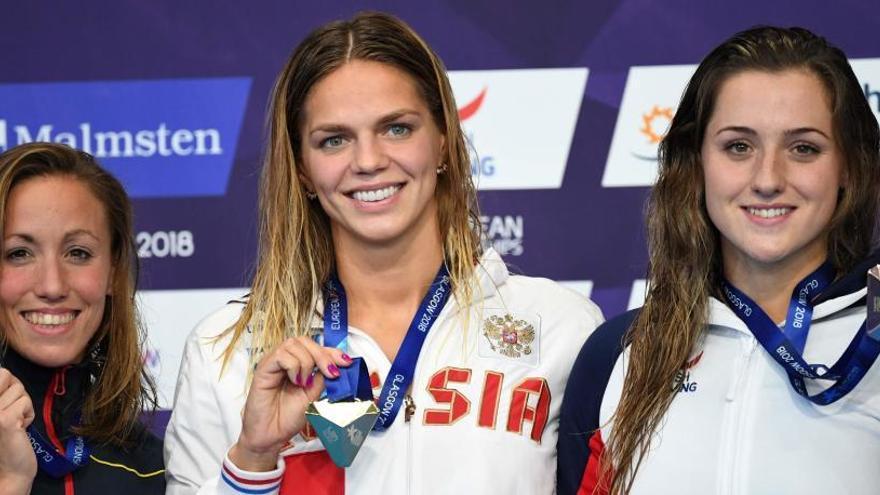 Jessica Vall, plata en los 200 metros braza del Europeo