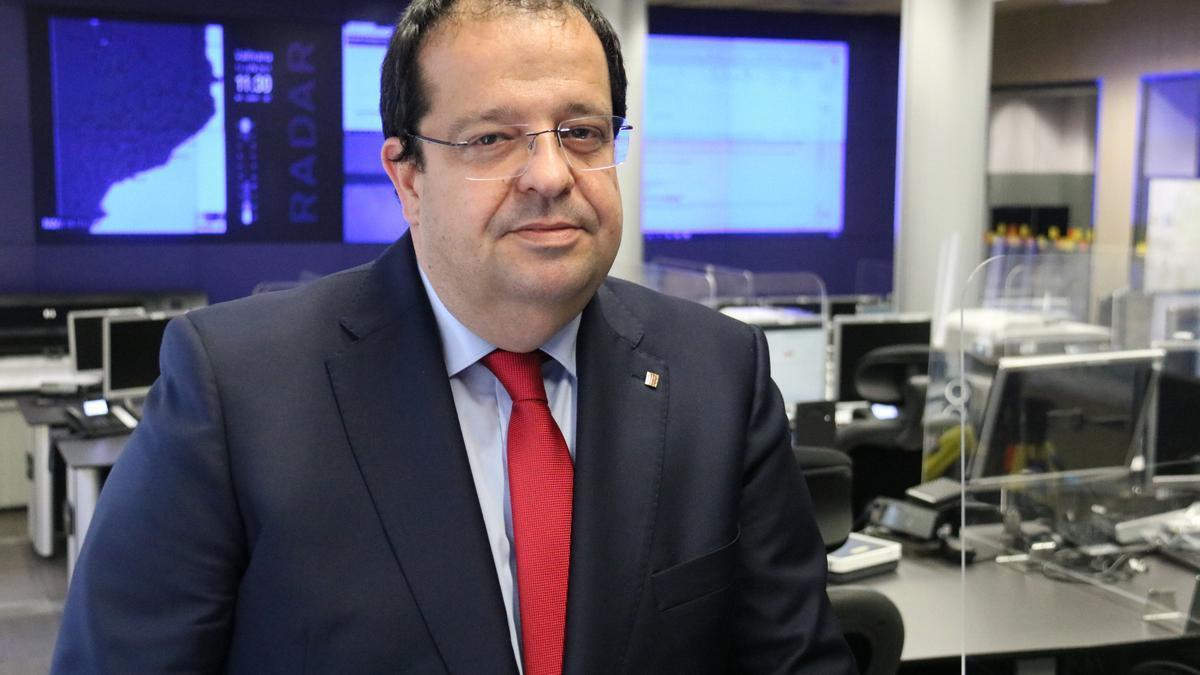 El conseller d'Interior, Joan Ignasi Elena