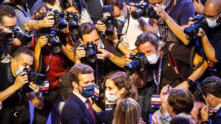 Treva d'Ayuso amb Casado: «El meu lloc és Madrid»