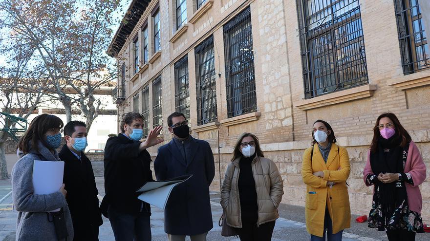 Llíria inicia las obras de reforma del CEIP Sant Vicent