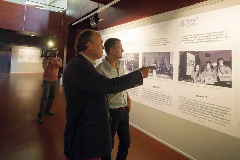 Fotogalería de la inauguración de la exposición de los 25 años del diario